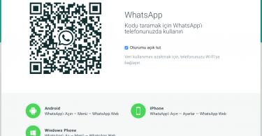 WhatsApp Web, WhatsApp Web nasıl kullanılır, iPhone, Android, Windows Mobile